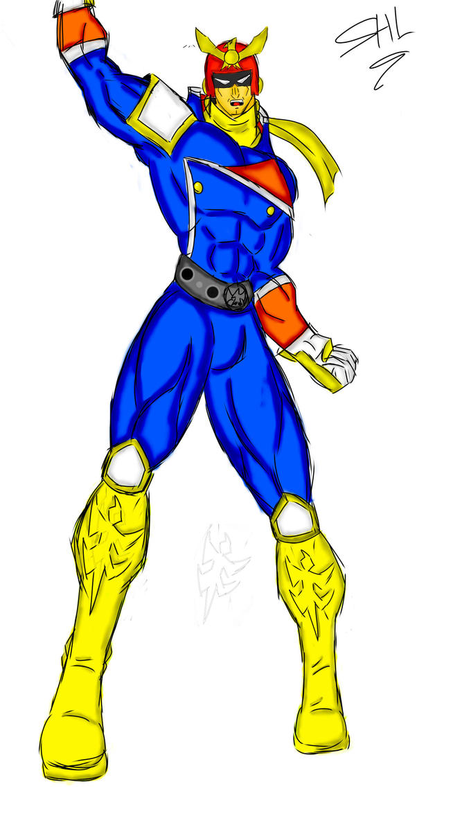 Captain Falcon by STRAYKER24