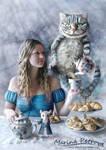 Tea-party in Wonderland