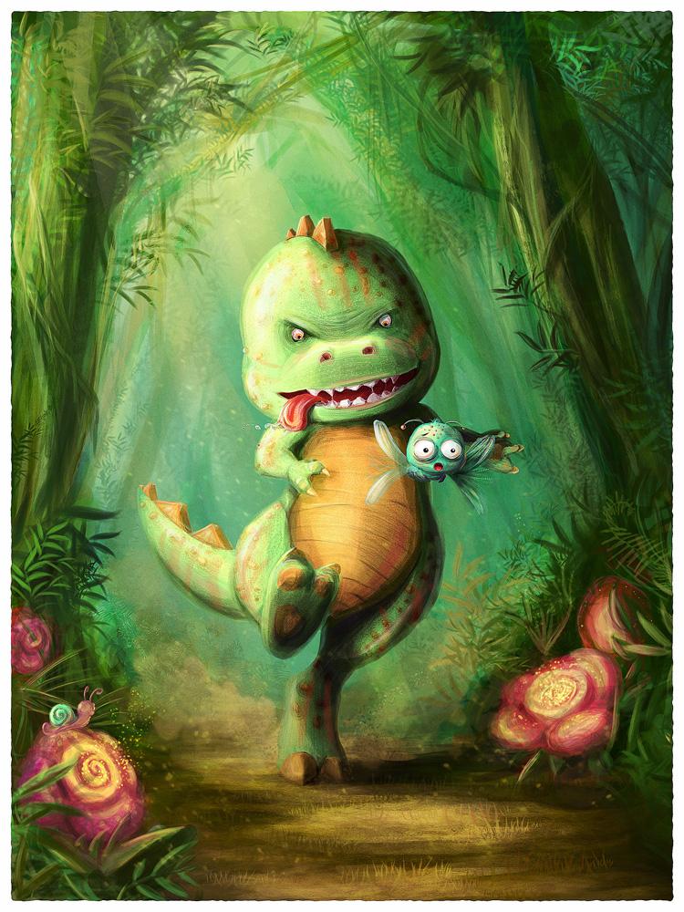 Dino Hunt by mary-petroff
