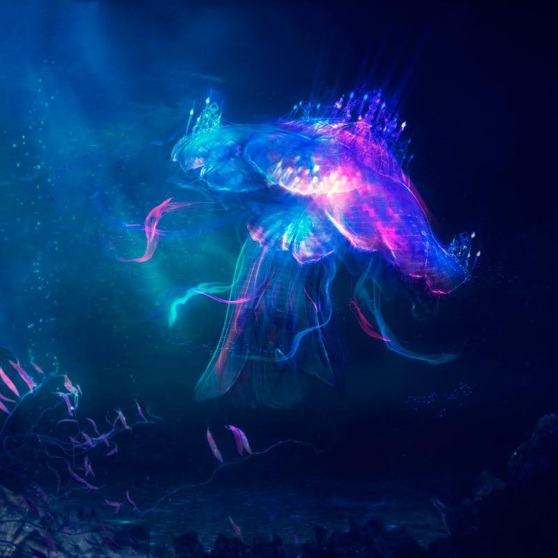 Jellyfish Palace by mary-petroff