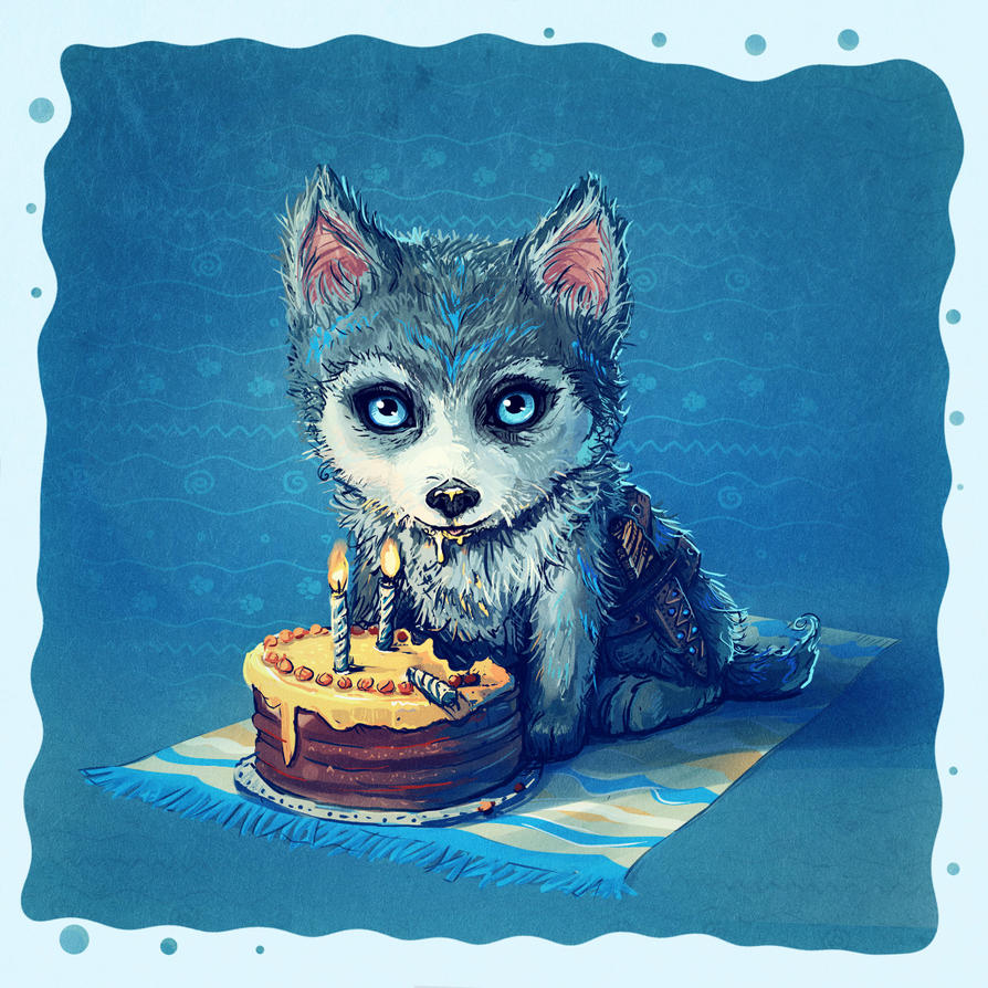 birthday_card___little_wolf_by_mary_petroff-d9j794k.jpg