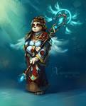 Harinezumi - Pandaren Priestess