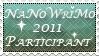 NaNoWriMo 2011 stamp by InLoveWitEdwardC