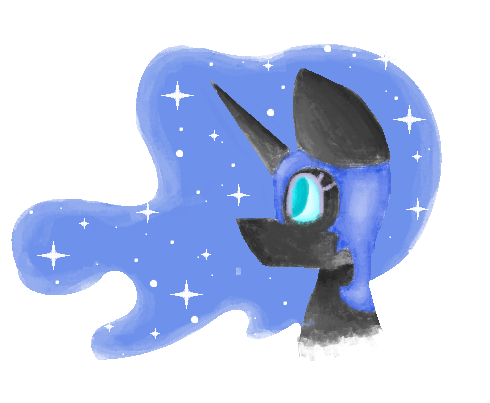 nightmare moon by ZMKicia