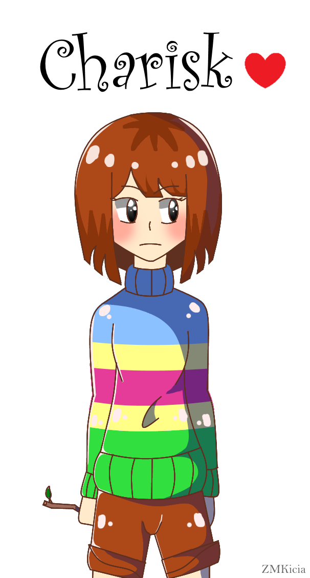Undertale OC - charisk by ZMKicia