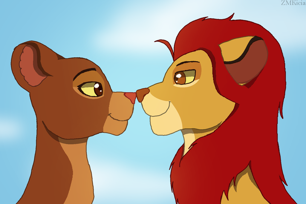 Lion Guard - Kion X Rani by ZMKicia