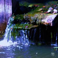 Water fall by Tsisqua-Ugidali