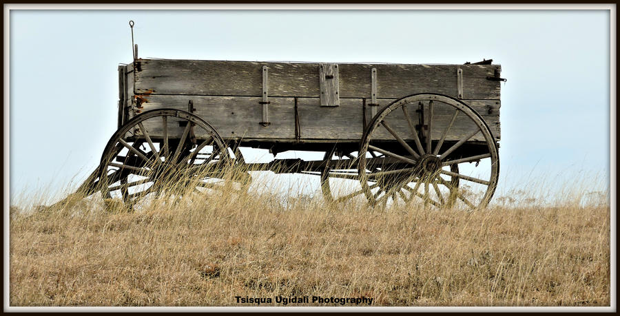 Wagon's West by Tsisqua-Ugidali