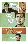 Doctor Who Comic Page