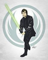 Luke Skywalker - Return of the Jedi by gravitydsn