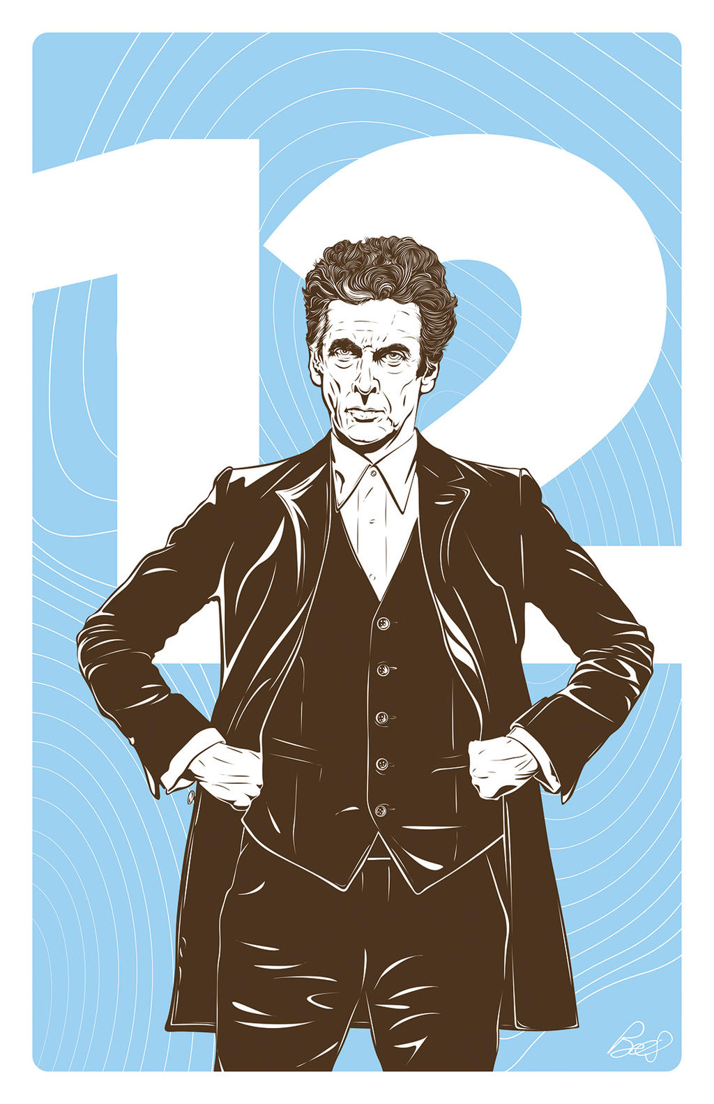 Doctor Who 12th by gravitydsn