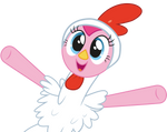 Pinkie Pie the Cuddly Chicken (Vector)