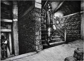 Amnesia: The Dark Descent - Staircase