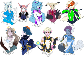 { PKMN-PMMM } Bust Requests by Sir-Pudge