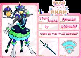 Itsumi Okada - { PKMN-PMMM } by Sir-Pudge