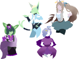 Lineless Beauties 2 by Sir-Pudge