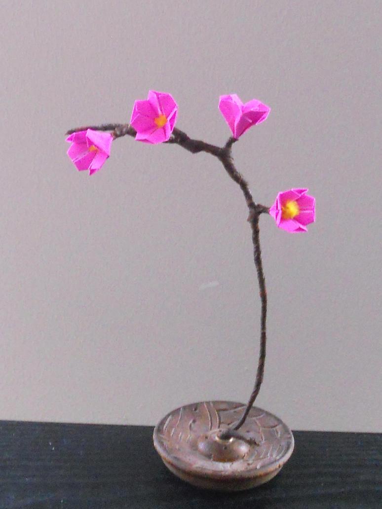 Origami Sakura Blossom by sakuralu83