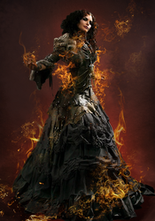 Flaming Witch