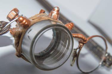 Steampunk Glasses v2.0 detail shot