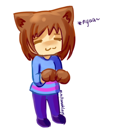 kitty frisk by tanooklings on deviantart