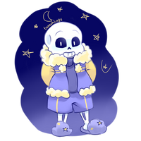 Outertale!Sans by tanooklings