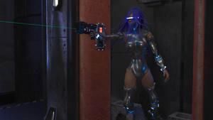 Escape from MU14 - Cyborg Closeup