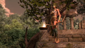 Elf Huntress 001