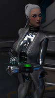Cryo Cargo Inspection - Caretaker Closeup 2