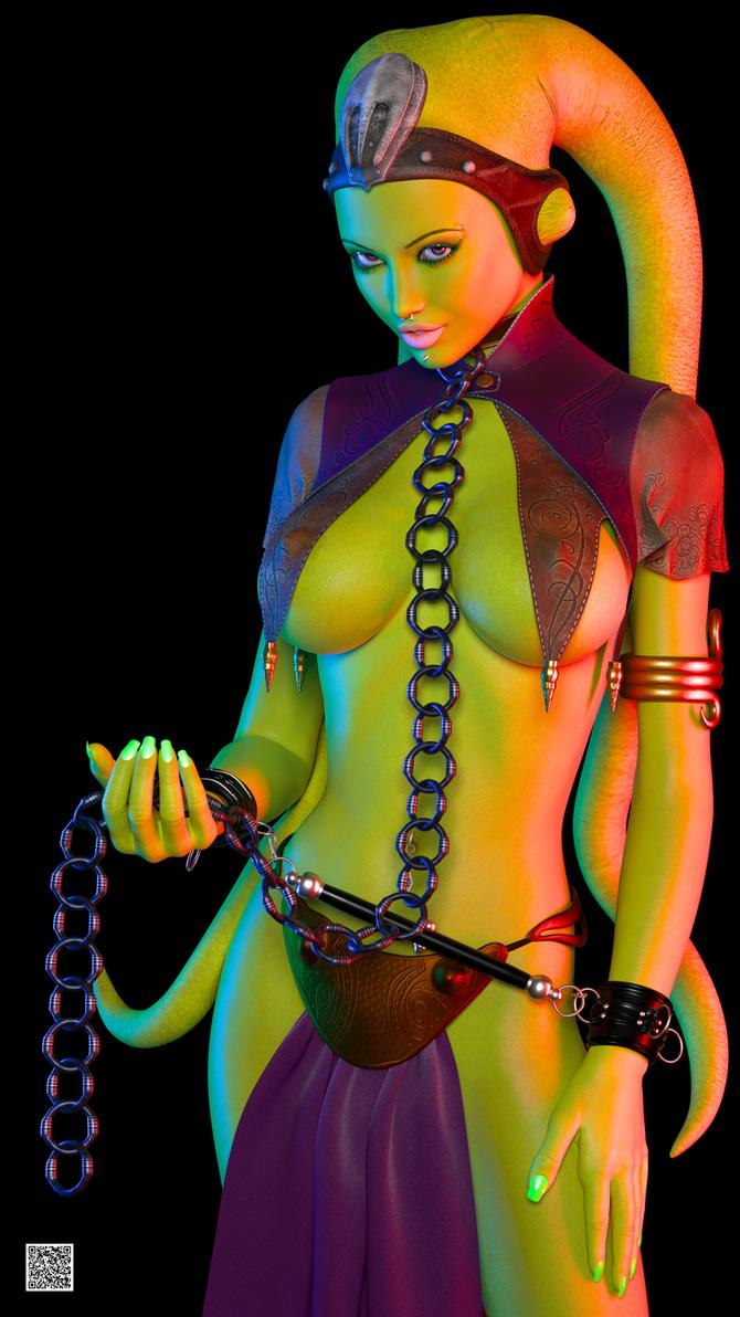 Twi'Lek Slave 001 by cwichura