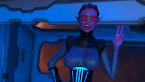 Elven Space Cadet 001 - Bust