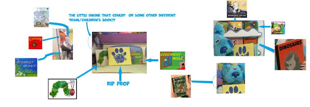 Books Seen In Blue S Clues Season 6 By Idknjbc On Deviantart