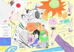 Happy 6th anniversary Muslim Manga!! by ZNsnowbell4