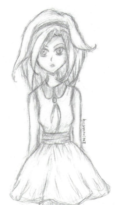 Grace sketchy by ZNsnowbell4