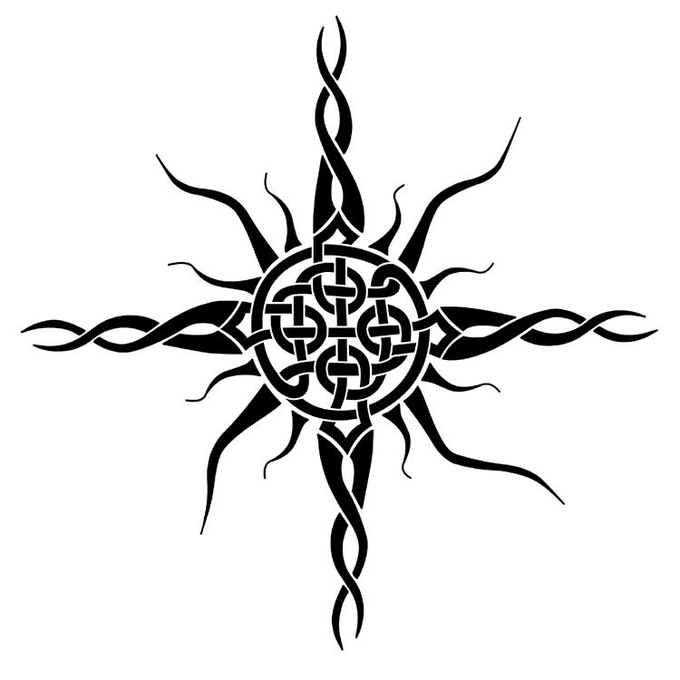 celtic sun by fieryinamorata on deviantart. Black Bedroom Furniture Sets. Home Design Ideas