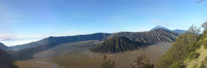 Panorama Shot: Bromo Edition (Pt. 1/2) by Moostika