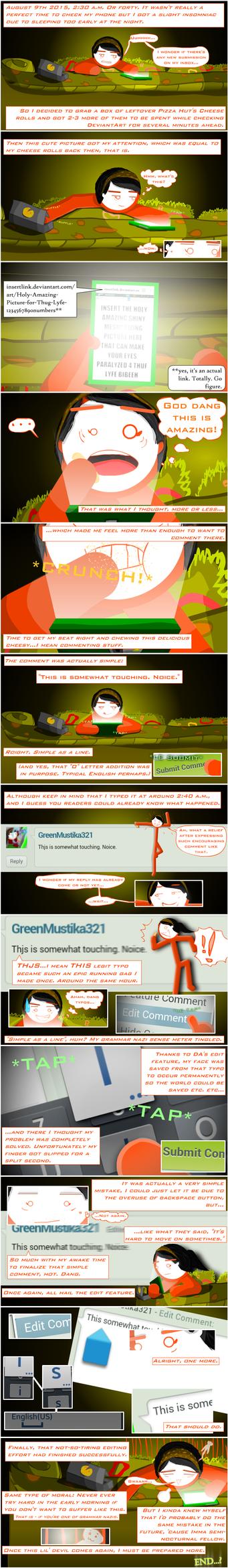 Mustika's Epicly Random Comic - Aug 15 Edition by GreenMustika321