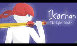 Ikarhan, The Light Paladin by Moostika
