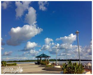 Sibu Waterfront by pucukpaku