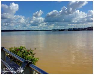 Rajang River by pucukpaku