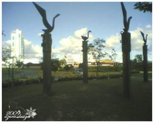 Swan Park by pucukpaku