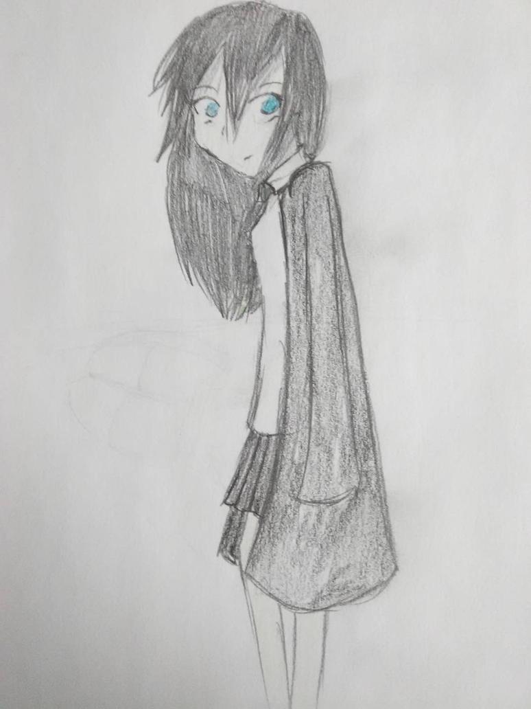 Sapphire in Uniform by AmayaBabyPanda