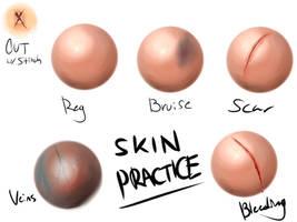 Skin Practice by Inarmsofamity