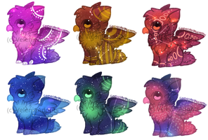 [OPEN] Galaxy Griffins 50-55 points by VelenieAdopts