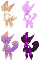 [Auction][#2 OPEN] Cute Anthro SB 80 points by VelenieAdopts