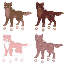 [OPEN] Smiling Wolves 45 points by VelenieAdopts