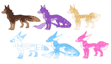 [OPEN] Canines 45 points by VelenieAdopts