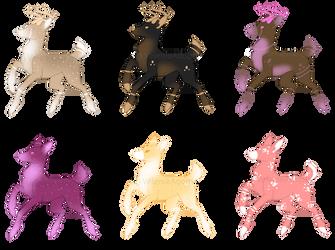 [OPEN] Deer 40 points by VelenieAdopts