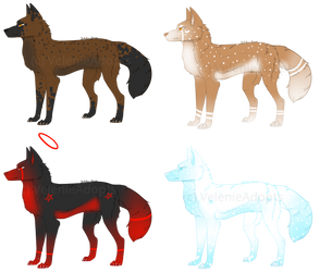 [OPEN] Wolves 40-45 points by VelenieAdopts