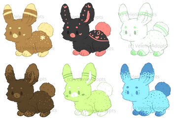[OPEN] Fluffy Bunnies 30 points by VelenieAdopts