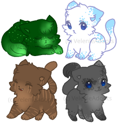 [OPEN] Cute Cats 30 points by VelenieAdopts